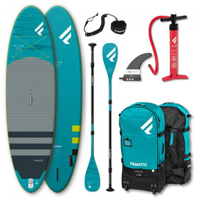 """Fanatic Fly Air Premium/C35 SUP Package 10'8"""" Inflatable Sup with Paddles and Pump"""